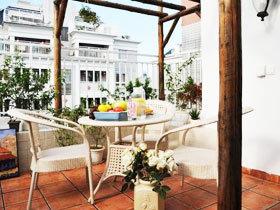 阳台搭出度假风 12款地中海阳台设计