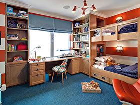 17款美式儿童房收纳设计 给玩具找个归宿