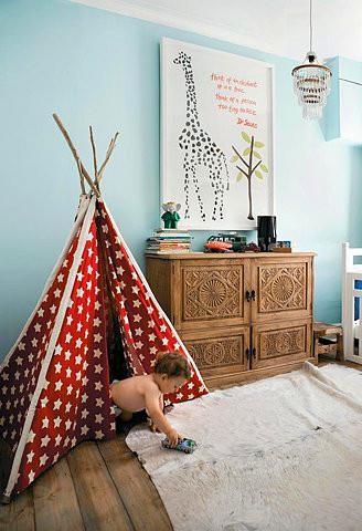 美式风格,儿童床,可爱,儿童房图片