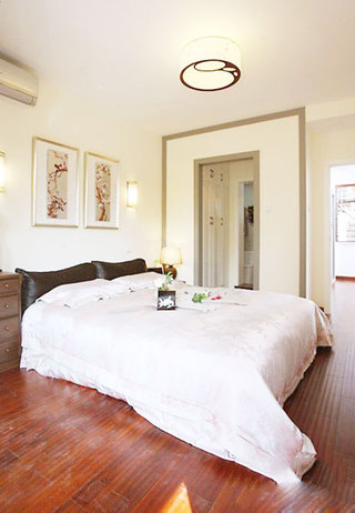 中式风格大气卧室装修效果图