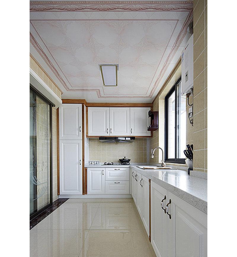 10 15万130平米欧式三居室装修效果图,135㎡轻奢3居婚房 非凡格调高清图片