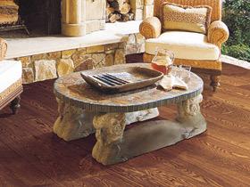 东南亚风情橡木实木地板