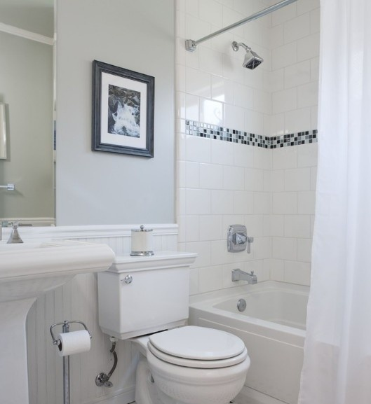 现代简约风格简洁卫生间马桶效果图