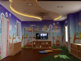 20款梦幻儿童房吊顶设计 可爱范儿十足