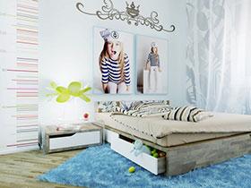 19款兒童房墻飾 盡顯俏皮可愛范兒