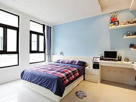 小主人的整洁卧室 18款简约儿童房欣赏