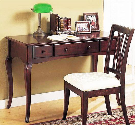 中式风格大气书房书桌图片_齐家网装修效果图图片