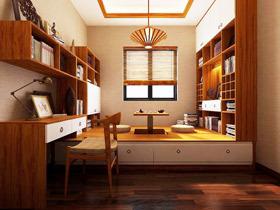 19个榻榻米装修图 打造舒适书房