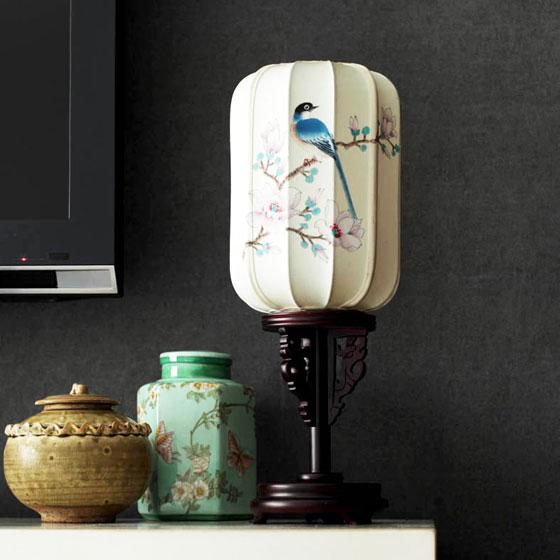 中式风格大气台灯图片