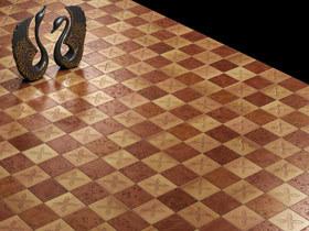 经典四叶草 3张法式瓷砖效果图