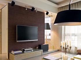 17款客厅电视墙设计 简约风格挑大梁