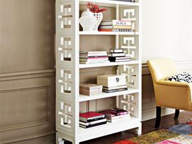 中式風格書柜 11圖兼具大氣與實用