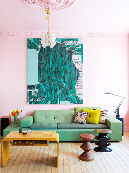 欧式风格客厅客厅灯图片