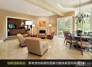 地板砖颜色与搭配 地板砖装修效果图