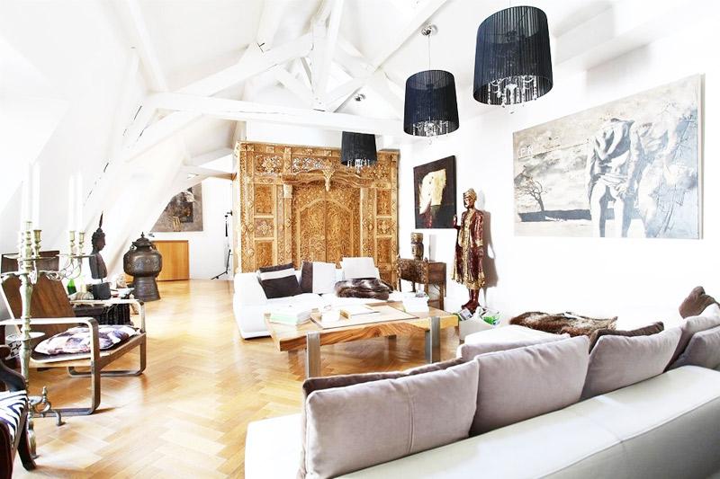 简约风格客厅客厅灯效果图
