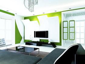 电视背景墙图片 16图秀创意和灵感