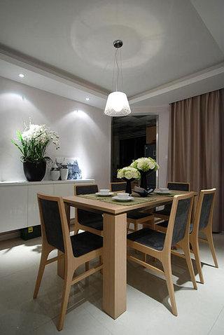 现代简约风格温馨5-10万100平米餐桌效果图