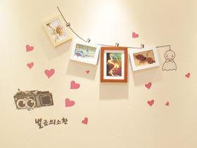 16款DIY照片墙图片 留住美好时光