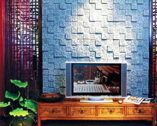 18图中式电视背景墙 有格调的墙面设计16/18