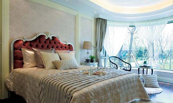 15款欧式床头软包效果图图片