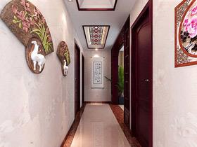 古典中国风韵味 18款中式走廊设计图