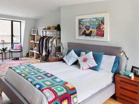 22个装饰画卧室设计 扮出温馨舒适