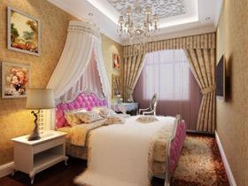 美化睡眠空间 20款卧室背景墙效果图