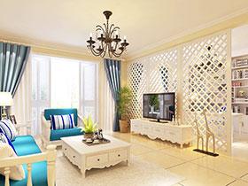 地中海风格墙面 20款电视背景墙效果图