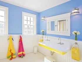 糖果色背景點綴 15款實用衛浴掛件設計