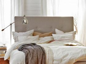 给卧室加分 19款灰色床头软包设计