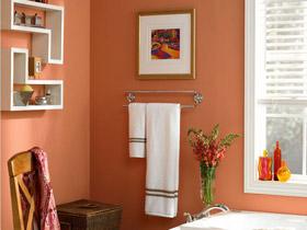 美观又实用 15款双杆卫浴挂件图片