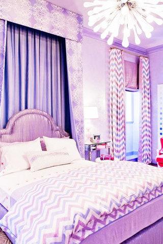 欧式风格卧室窗帘窗帘图片