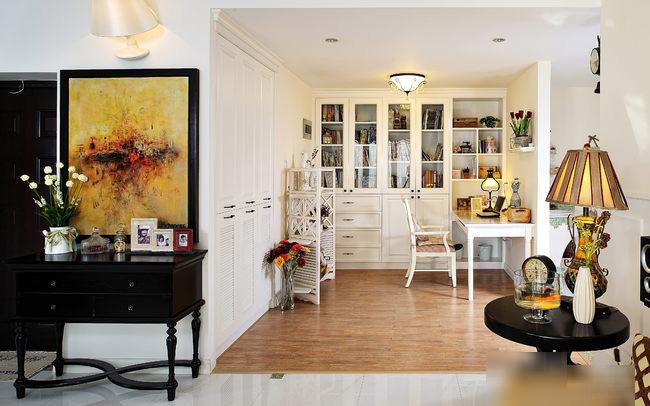 美式风格二居室温馨装修效果图