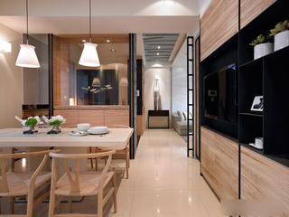 新中式三居室装修 很有品味的设计3/5