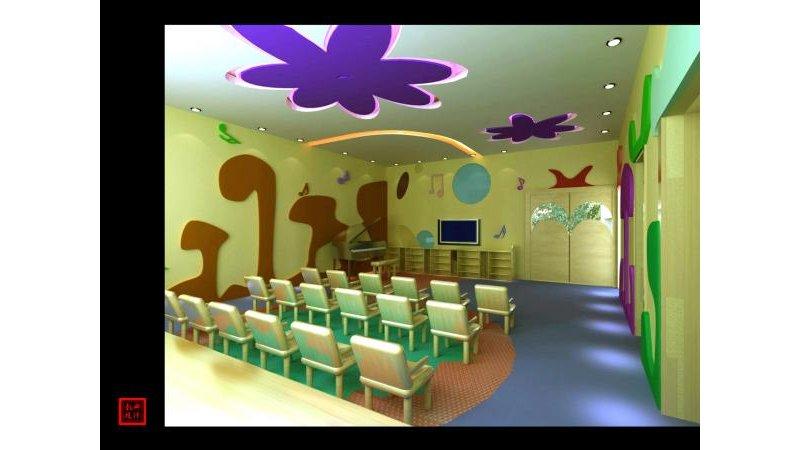 新盟幼儿园效果图图片