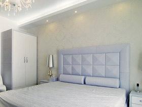 格子控的家 18個格子床頭軟包設計
