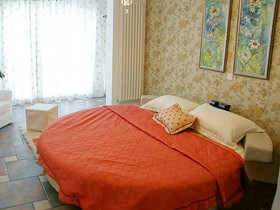 圆床+软包  20款床头软包效果图