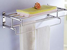 實用風格設計 17個不銹鋼毛巾架