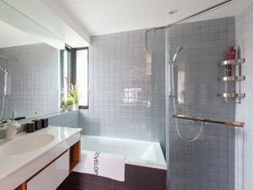 给洗护品一个家 17个简洁卫浴挂件效果图