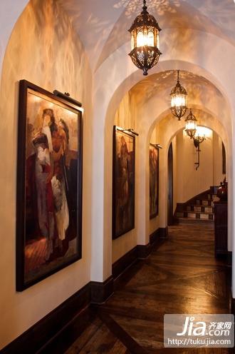 客厅电视背景墙装修效果图,瓷砖电视背景墙设计装修图片