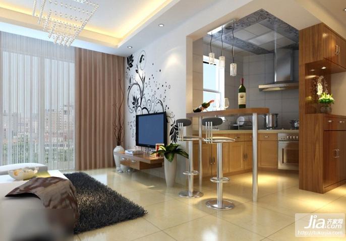 两室两厅简约客厅装修效果图大全2012图片装修效果图
