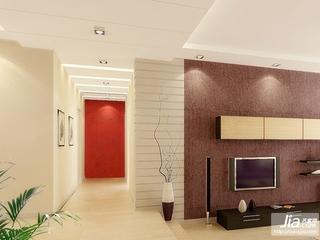百步雅庭中式古典四居室装修效果图
