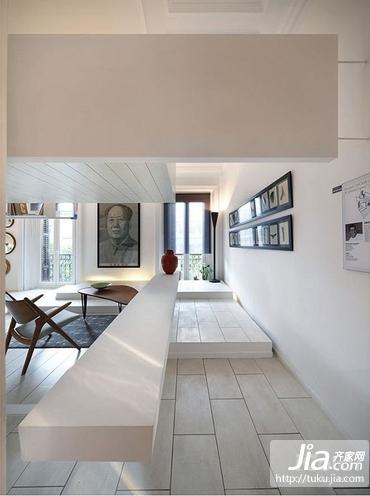 纯白色的简约装修效果图大全2012图片装修图片