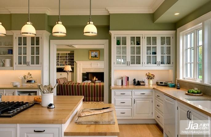 厨房橱柜效果图装修效果图