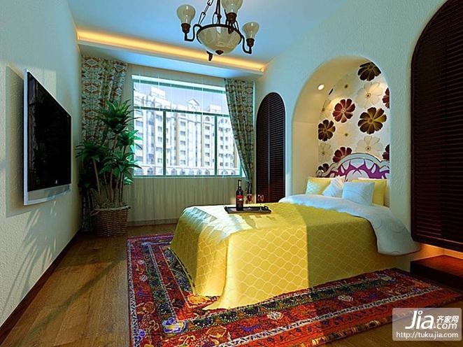 巴塞罗那 晶座二居室138平米装修效果图高清图片