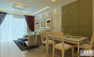 2012最新两室一厅客厅吊顶装修装修效果图