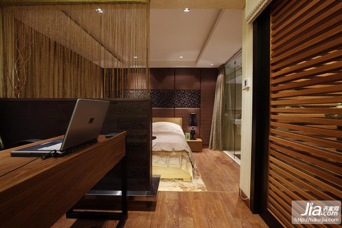 暖色调 中式门廊装修效果图 齐家网 装修效果图高清图片