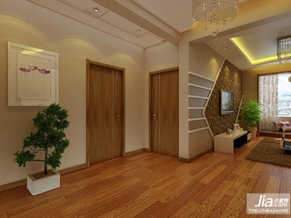 金地名京二居室94平米A户型装修图片