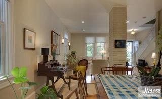 美式风格客厅家装装修图片