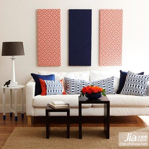 90平小户型北欧小清新客厅装修效果图大全2012图片装修效果图